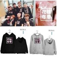 Kpop Winter 2016 New Men Women BTS Bangtan Boys Mood For Love Albums Hooded Hoodie K