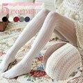 2017 Primavera e No Outono Coração Oco Para Fora Padrão de Meia-calça de Veludo Macio Calças Justas para Mulheres