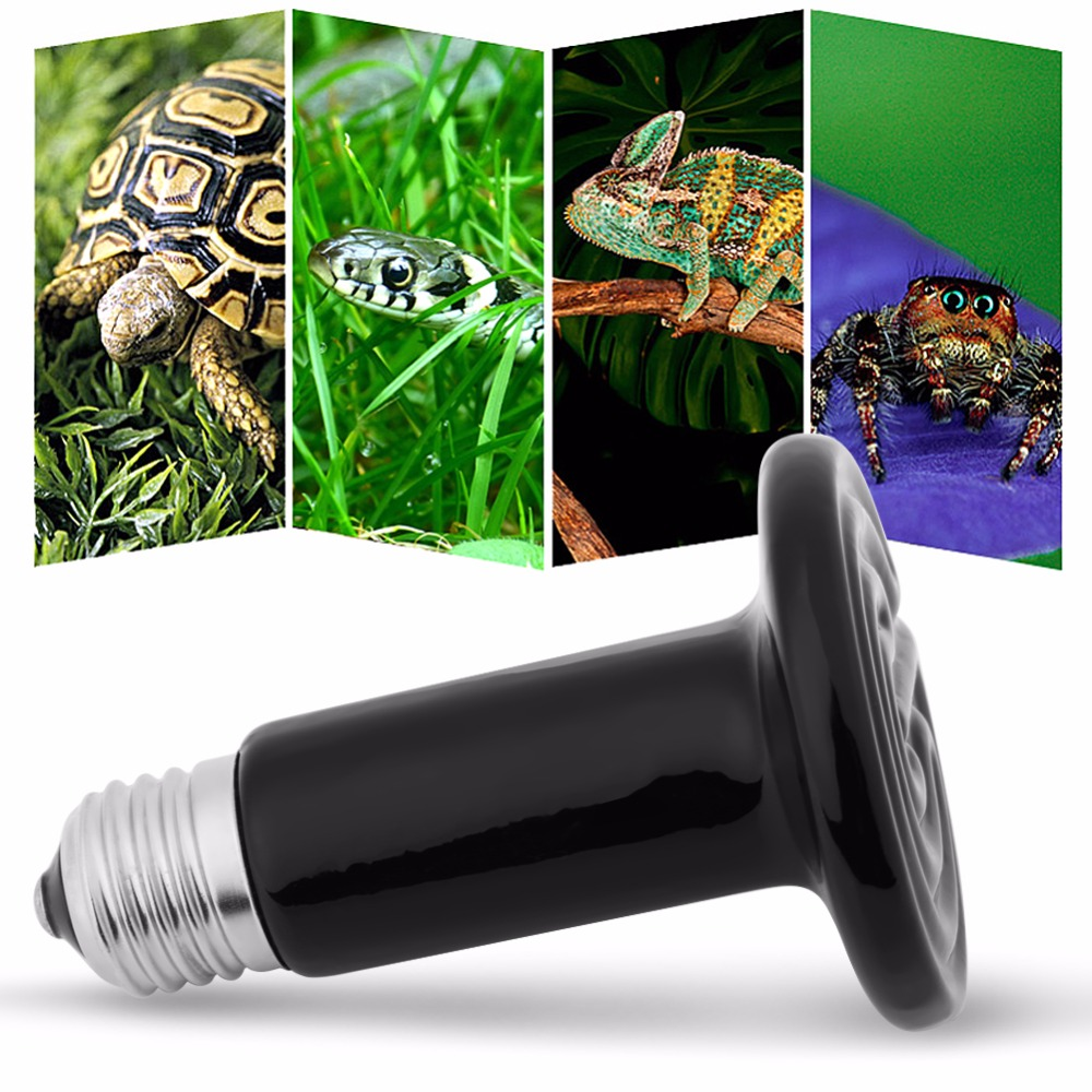 Pet Heating Light Bulb Mini Infrared Ceramic Emitter Heat Lamp Bulb For Reptile Pet Heater Brooder Chocadeira Ceramic Heater