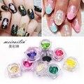 New Arrivals 12 Colors/set Nail Glitter Shell Paper Sheet Flake Nail Tips Art DIY Thin Nail Art Decorations Beauty Nails Sticker