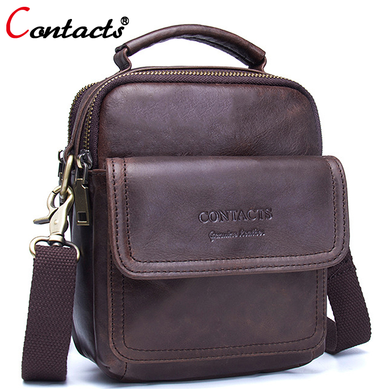 CONTACT'S Small Cow Genuine Leather Bag