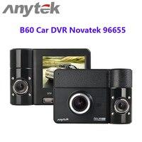 Anytek B60 Car DVR Novatek 96655 170 Degree Wide Angle 1080P 3.0MP Dash Camera 270 Degree Rotating View EIS Anti-shake Detector