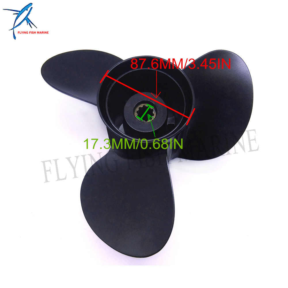 Outboard Propeller 5032107 10 1/4x10-K for Evinrude Johnson 25-30hp Boat  Engine Parts 10 25x10 Aluminum