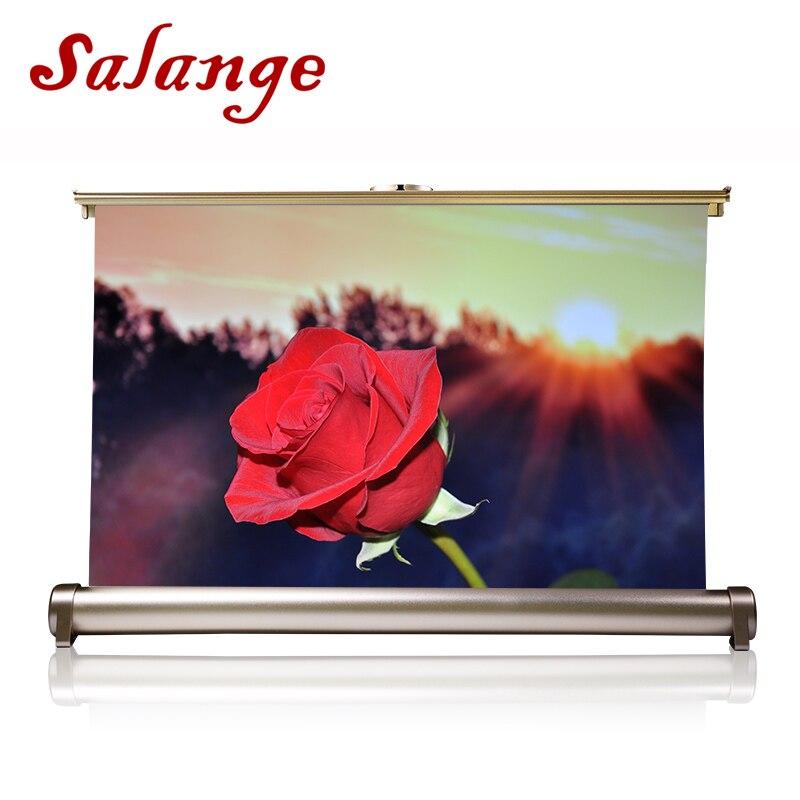 Salange 20 pouces écran de Projection 16:9 écran de Projection Portable écran de bureau Portable pour réunion d'affaires