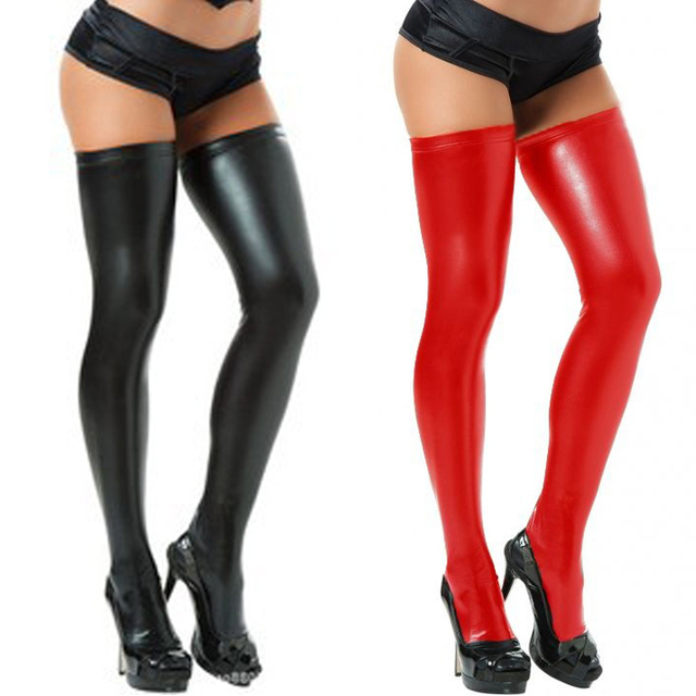 Бесплатная доставка Сексуальный ночной клуб производительность пластиковые ножки тощий длинный версия Ортега стволом лакированной кожи высокого класса PU мягкий теплый