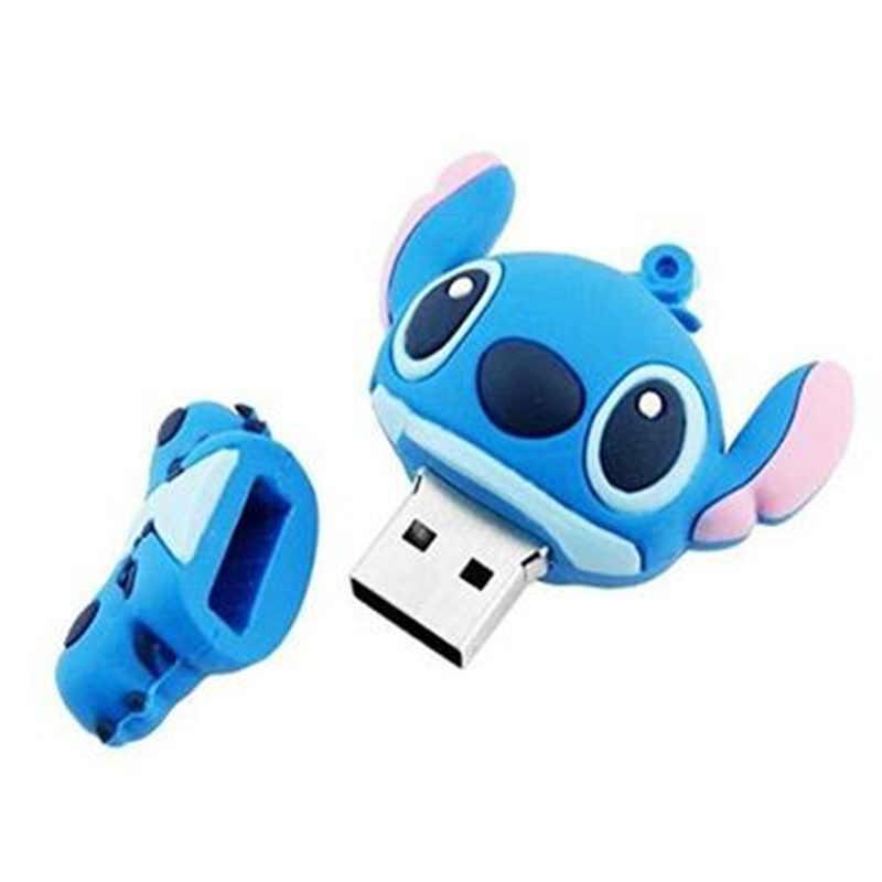 Lilo & Stitch, Usb флеш-накопитель, 32 ГБ, 16 ГБ, флеш-накопитель, 4 ГБ, 8 ГБ, флешка, 2,0, милый мультяшный U диск, карта памяти, Usb флеш-карта, лучший подарок