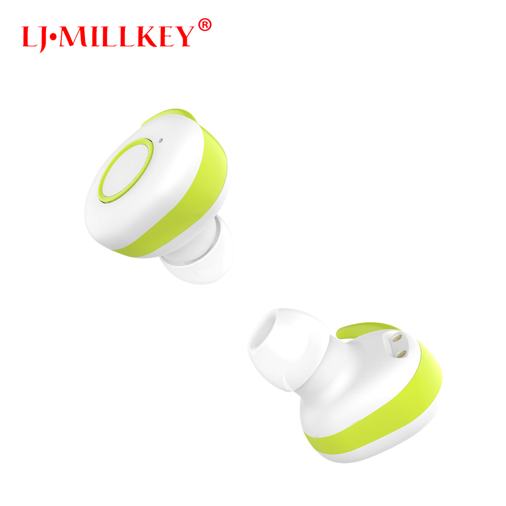 TWS Invisible Mini Headset 3D Stereo Hands-free Noise Reduction Bluetooth Headset Wireless Earphones And Power Bank Box YZ111 mini wireless headphone bluetooth earphone earbuds airpods tws headset for hands free calling with power bank for mobile