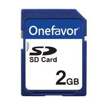 Karta SD Onefavor 2 GB bezpieczna cyfrowa karta pamięci SD 2G 2 GB