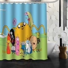 Belle beemo adventure time Imprimé Polyester Rideau De Douche 66×72 Pouces Américain Style Salle De Bains Rideau De Douche