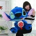 Doria Comerciante 26 '' / 65cm gigante relleno felpa suave divertido encantador Stitch dibujos animados Toy, bonito regalo para los bebés, envío libre DY60045