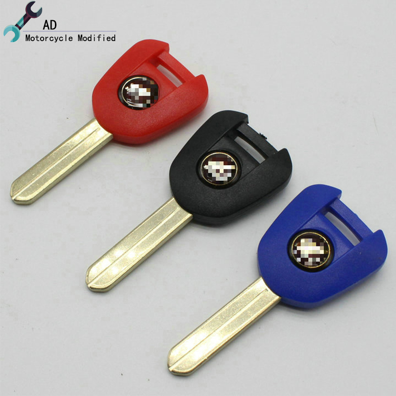 Moto Embryo Blank Keys Can install chip For Honda Motor bike Part NC700S NC700X NC700D NC750S NC750X Motorcycle Accessories !