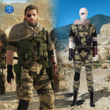 ManLuYunXiao Metal Gear Solid 5 Cosplay Costume Snake Halloween Costumes For For Men  sc 1 st  AliExpress.com & Buy solid snake costume and get free shipping on AliExpress.com