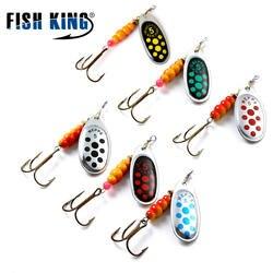 Рыбы король MEPPS 6 Цвет 0 #-5 # блесны с Mustad тройниками 35647-BR Arttificial приманки