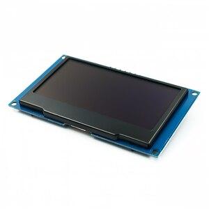 """Image 3 - Beyaz 2.42 """"2.42 inç LCD ekran 128x64 OLED ekran modülü IIC I2C SPI seri C51 SPD0301"""