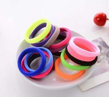 10pcs/lot Colorful Child Kids scrunchie Hair Accessories Holders Cute Rubber Hair Band Elastics Accessories Girl Charms Tie Gum