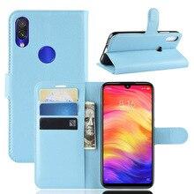 10 шт./лот,, кожаный чехол-бумажник с зернистой текстурой личи для Xiaomi A2Lite Redmi 6 6A 6PRO Note 6 Note 6PRO Redmi Note 7