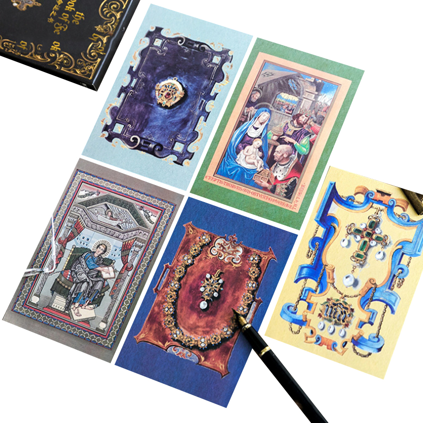 30pcs/pack Original Postcards Book Of Destiny Have Unique Appearance And High-end Packaging And Good Quality