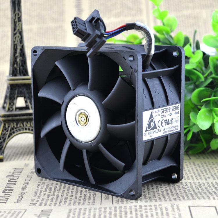 Original 9CM Dual Fan cooling 9250 12V 2.1A GFB0912EHG Quality Assurance cpu cooler heatsink axial Cooling Fan