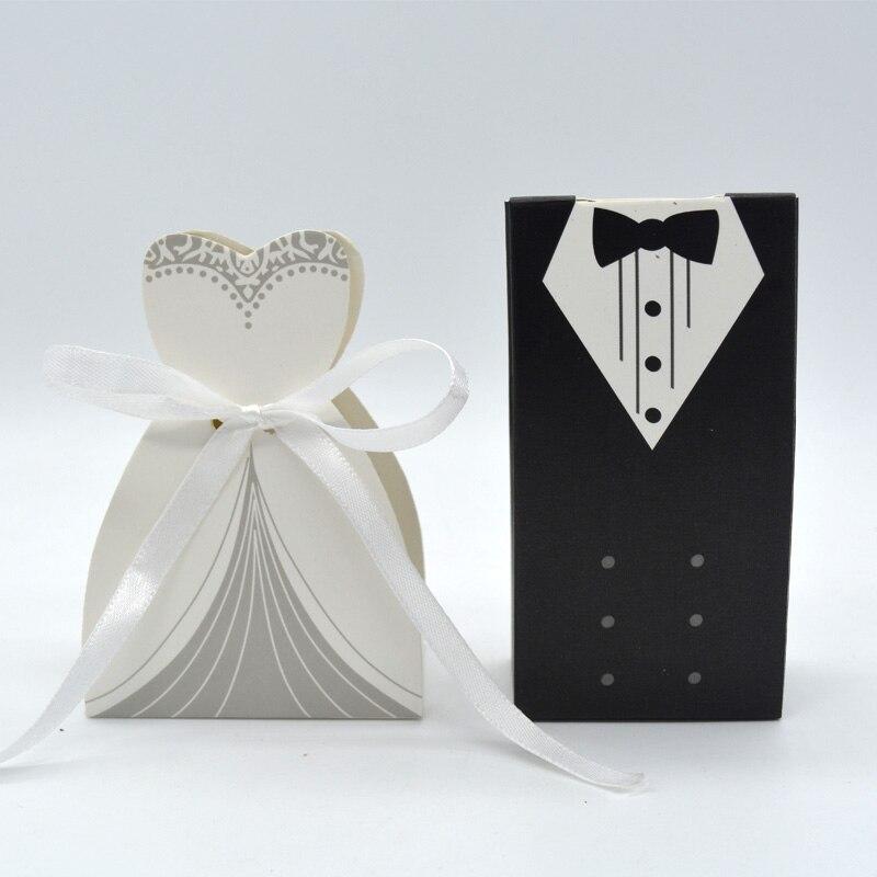Wedding Gift Bag For Bride And Groom : New Design Bride And Groom Wedding Favor Candy Box Paper Gift Bag ...