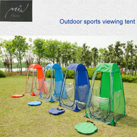 Automatically Trasparently Outdoor Sports Fans To Viewing Tent Game To Warm Cold Winter Fishing Tent Warm Winter Tent Hanabusa