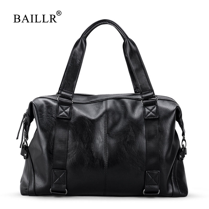 BAILLR Brand Handbags For Men bag Male Bolsa Large-Capacity Portable Shoulder Bags Men's Fashion Travel Bags Package Top handle safebet brand high quality pu leather handbags for men large capacity portable shoulder bags men s fashion travel bags package