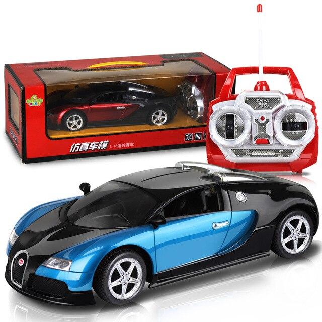 1:18 bugatti télécommande voitures électrique chargeur soutien