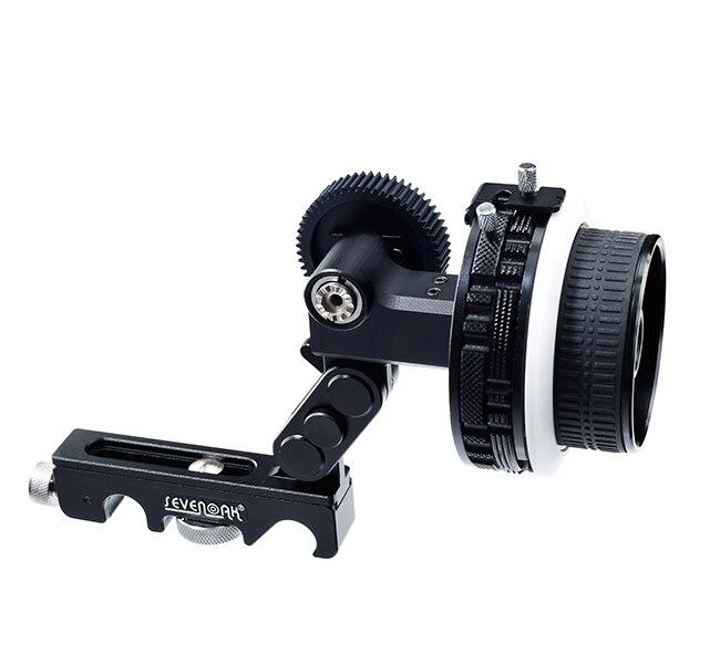 SK-F2X Pro pratique à utiliser suivre Focus amortisseur à dégagement rapide A/B arrêt dur avec courroie de vitesse pour reflex numérique Canon Nikon A7 A7R