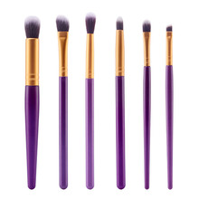 6pcs/set Makeup Brush Set Kit Contour Conclear Eyeshadow Eyebrow Lips Brushing Brushes Cosmetic Brush Kits Makeup Tools