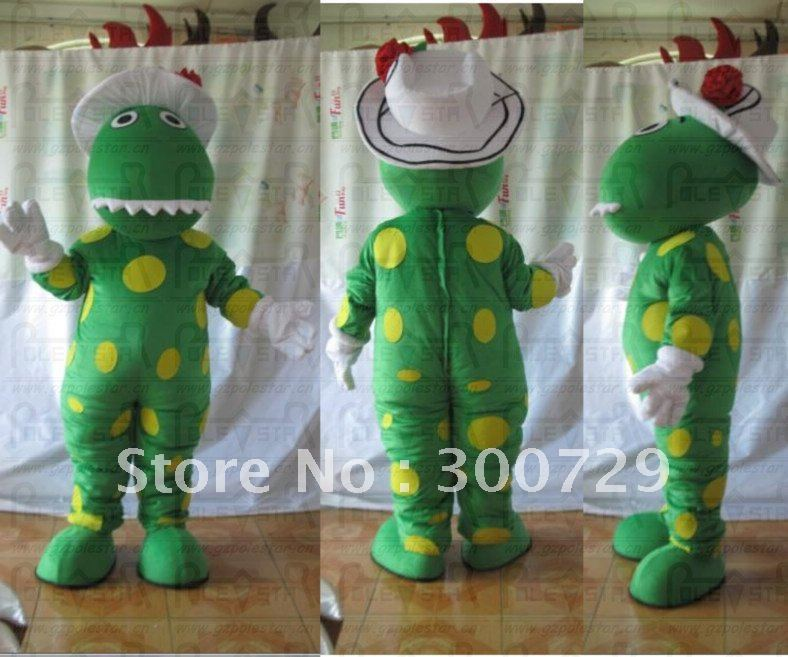 Mascot Costume dorothy the dinosaur mascot costumes without tail