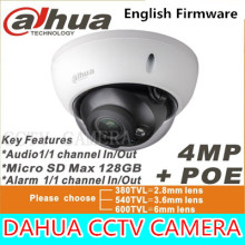 Dahua mp IPC-HDBW4421R-AS IP network camera cámara DH-IPC-HDBW4421R-AS apoyo POE / Micro SD de almacenamiento / Audio 1/1 canal In / Out
