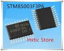 100pcs/lot New STM8S003F3P6 8S003F3P6 TSSOP-20 16 MHz 8-bit MCU, 8 Kbytes Flash, 128 bytes data EEPROM, 10-bit ADC IC