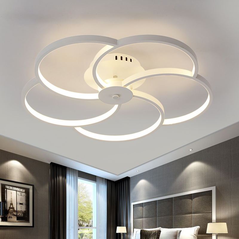 Modern Simplicity Acrylic LED Ceiling Lights lamparas de techo AC85-260V ceiling Lamp for bedroom living room Luminaria luster led ceiling lights luminaria iron living lamp bedroom light lighting indoor moderne stepless dimming lamparas de techo acrylic