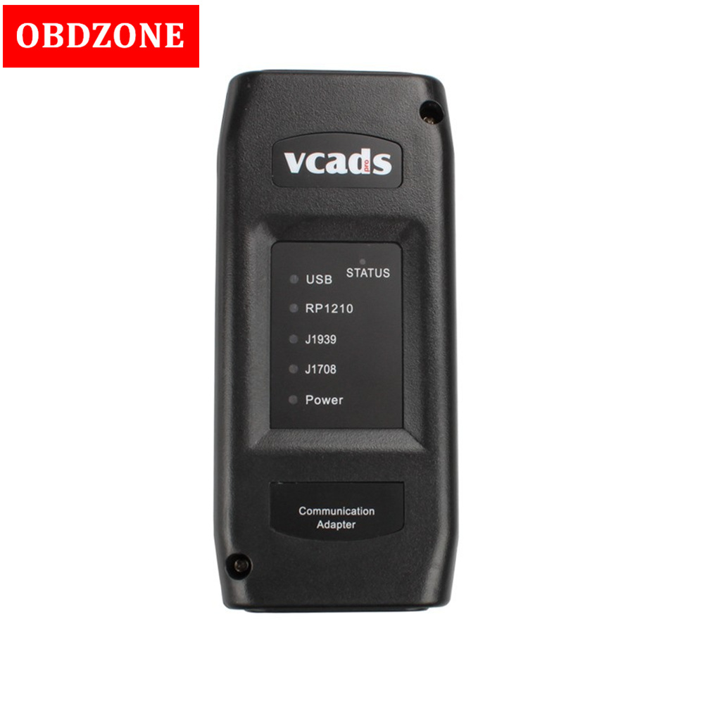 Professional Heavy Duty Scanner VCADS Pro 2 40 for Volvo Truck Diagnostic Tool With Multi Languages