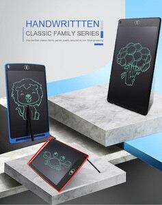 Image 2 - لوح للكتابة اليدوية بشاشة إل سي دي 8.5 بوصة لوحة رسم LCD للأطفال لوحة إلكترونية مرسومة يدويًا لوحة طاقة خفيفة السبورة