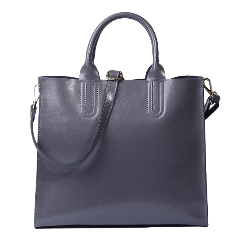 New Oil Wax Real Leather Tote Bags For Women Vintage Cowhide Shoulder Handbag Leather Bag Female Famous Designer Brands Purses стоимость