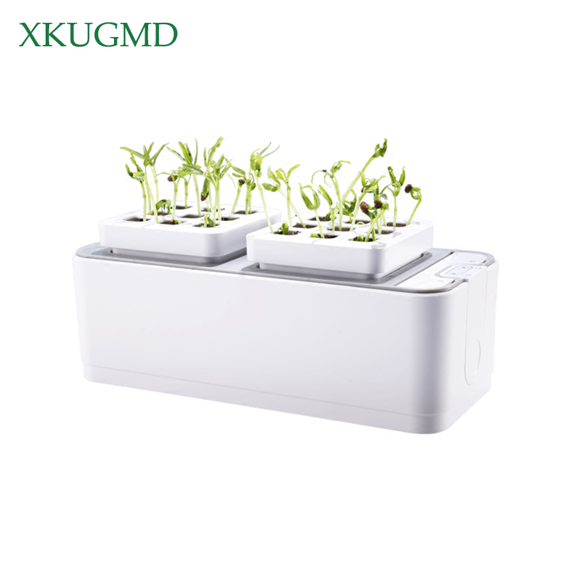 Battery Soilless Cultivation Plant Seedling Grow Kits Hydroponic Grow Kit Planting Sites Garden Plant System Vegetables Tool BoxBattery Soilless Cultivation Plant Seedling Grow Kits Hydroponic Grow Kit Planting Sites Garden Plant System Vegetables Tool Box