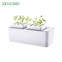 Battery Soilless Cultivation Plant Seedling Grow Kits Hydroponic Grow Kit Planting Sites Garden Plant System Vegetables Tool Box