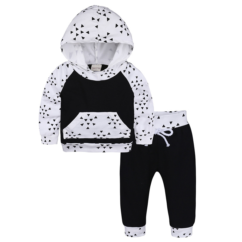 Boys Clothing Set Childrens Sports Suits Kids 2017 Spring Autumn Baby Boy Clothes Fashion Print Top Tee +Pants Outfits