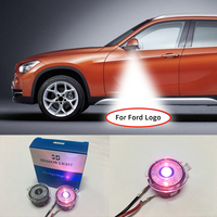 2x LED Side Mirror Door Ghost Shadow Projector Laser Welcome Courtesy Light FOR Ford Edge Mondeo Explorer Taurus Everes
