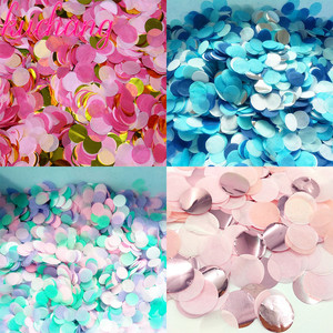 Image 3 - 500g/1kg Premium 1cm Round confetti Party Table Confetti  gold black red Pink Baby Shower Wedding Birthday Party Decorations