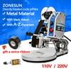 ZONESUN Manual Code Printer PVC Card Embossing Machine Letterpress Rotogravure Printing Machine Name Card Code Printer