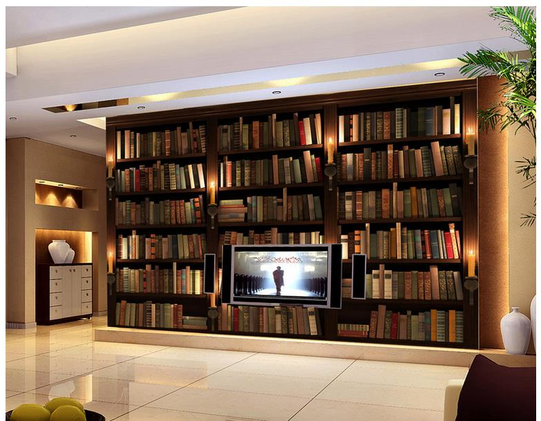 Stunning Behang Boekenkast Photos - Huis & Interieur Ideen ...