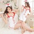 Sexy Uniforme de Enfermera Cosplay Venda + Vestido + Traje de la Ropa Interior Ropa de Dormir ropa de Dormir