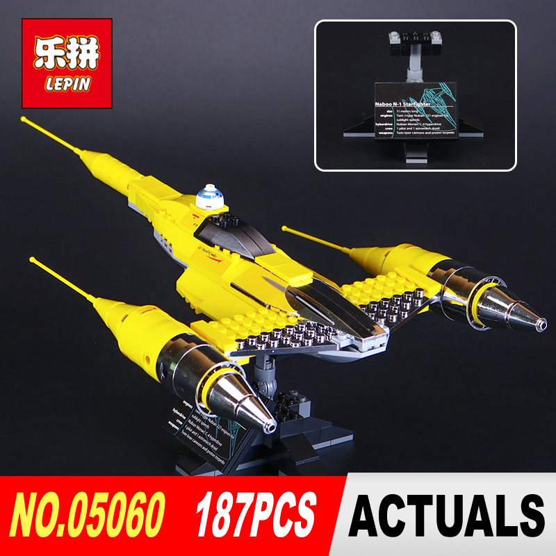LEPIN 05060 Star Series Wars UCS naboo star type fighter aircraft Model Building Blocks Bricks Compatible legoed 10026 Toy Gifts lepin 22001 pirate ship imperial warships model building block briks toys gift 1717pcs compatible legoed 10210