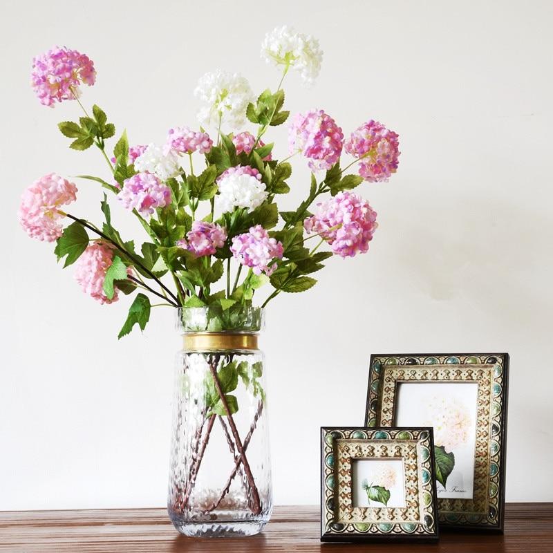 Wholesale Flowers For Weddings Events: Aliexpress.com : Buy Wholesale 100pcs 3 Heads Hydrangea