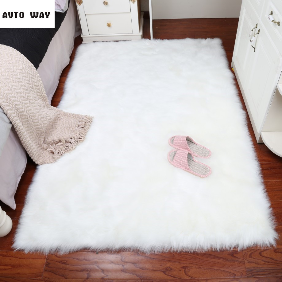 plush carpet bedroom imitation wool shop window mat white round carpet furplain fluffy area rugs warm hairy carpet seat padin mat from home  gardenon . plush carpet bedroom imitation wool shop window mat white round