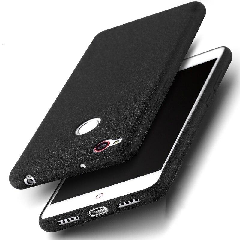 finest selection 8e155 3e99c For ZTE Nubia Z11 Mini S Case Slim Silicone Soft Fundas Matte Cover Phone  Cases For Nubia Z11 / Z11 mini