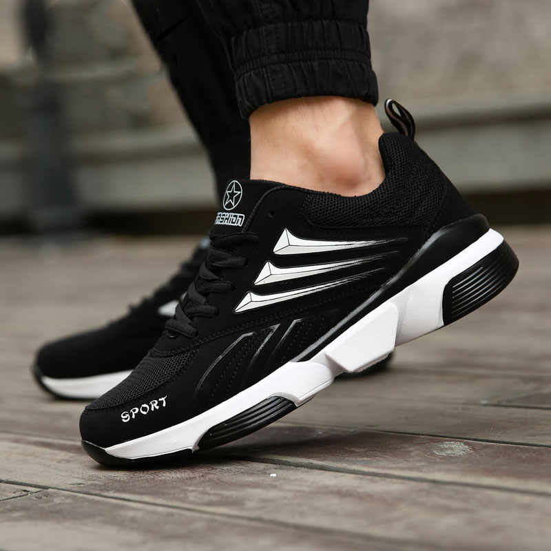 ФОТО 2017 Running Shoes Men Sneakers Women Sport Shoes Male Athletic Zapatillas Outdoor Breathable Air Mesh Original For Hombre