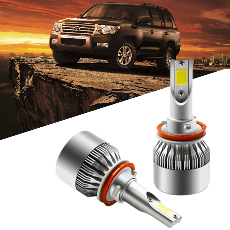 H7 H4 H11 H1 55W Car Led Headlight 12V 9200LM Automobiles Led carro Headlamp Bulbs Kit For Toyota/VW/Hyundai/Kia/Chevrolet/Mazda 1 7 11