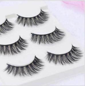 Image 5 - 13 diversi stili Sexy 100% Handmade 3D visone dei capelli di Bellezza di Spessore Lungo Ciglia di Visone Ciglia Finte Ciglia Ciglia di Alta qualità